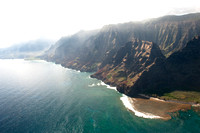 Na Pali Coast in the Morning         (Ancient Kings watch the Sun Rise)